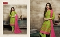 Collar Neck Makshi Salwar Suit Fabric