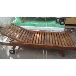 Teak Wooden Lounger
