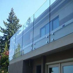 Aluminium Handrail Aluminum Office Partition