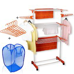 Kawachi Power Dryer Easy Mild Steel Cloth Drying Stand With