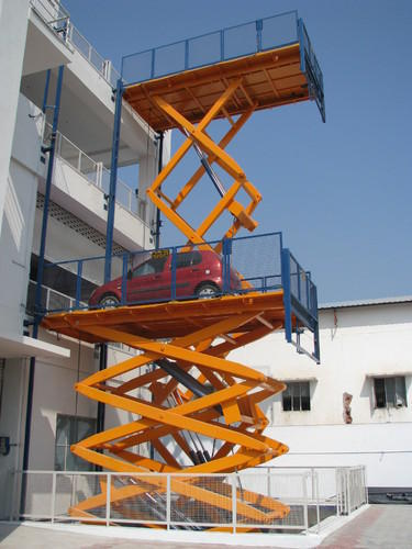 Garage Lifts For Cars >> Car Lift And Elevator - Hydro Hydraulic Car Scissor Lift ...