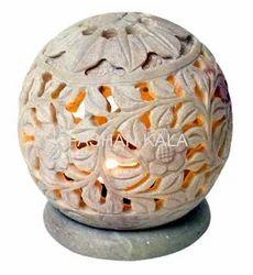 Decorative Soapstone Candle Holder