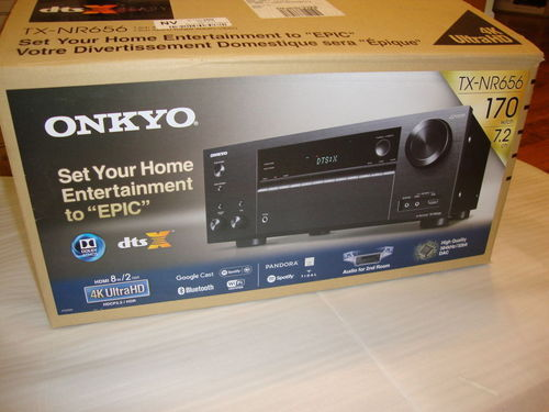 Home Theatre Receivers - Onkyo TX-NR656 7.2-Channel Network A/V ...