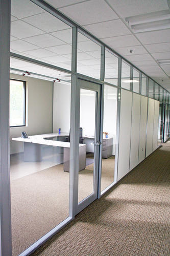 Modular Glass Partition System