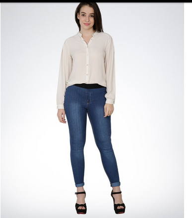 643d4b5ea3 Slim Fit Denim Jeggings   Casual Pants Ecommerce Shop   Online ...