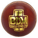 BDM Commander County Red Leather Ball