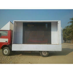 Elections Hydraulics LED Screen Van
