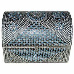 Wooden Stone Work Box