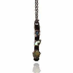 Electroformed Opal Pendants