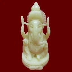 Resin Plain Ganesha Statue