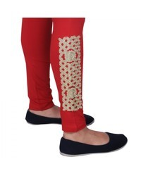 Golden Patch Legging