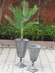 Galvanized Garden Planter.