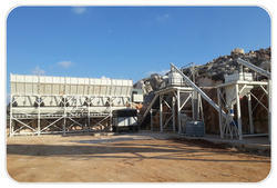 Dry Mix Concrete Batch Plant for Construction