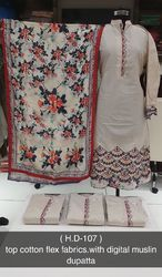 Embroidered Ethnic Suit