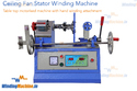 Ceiling Fan Stator Winding Machine Table Model With Hand
