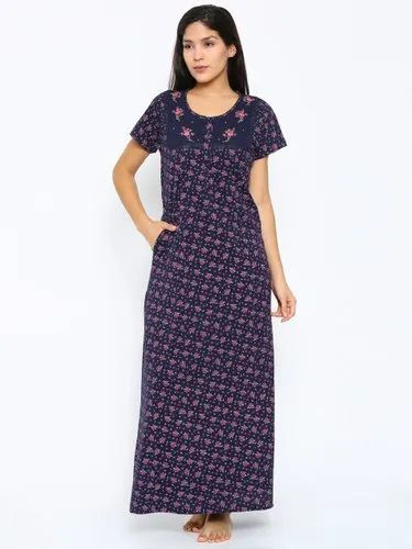 3582fba1c50 ... Women Sonoma Goods For Life Pajamas. Request Callback. Sweet Dreams  Navy Printed Maternity Nightdress