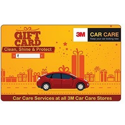 3M Car Care - Gift Card - Gift Voucher