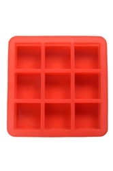 100gms - Square - 9Cavities - Silicone Soap Molds