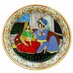 Marble Raja Rani Plate