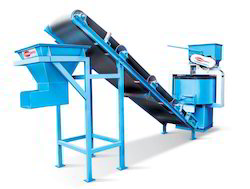 Automatic Paver Machine With Conveyor Feeder System
