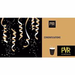 PVR Cinemas - Gift Card - Gift Voucher