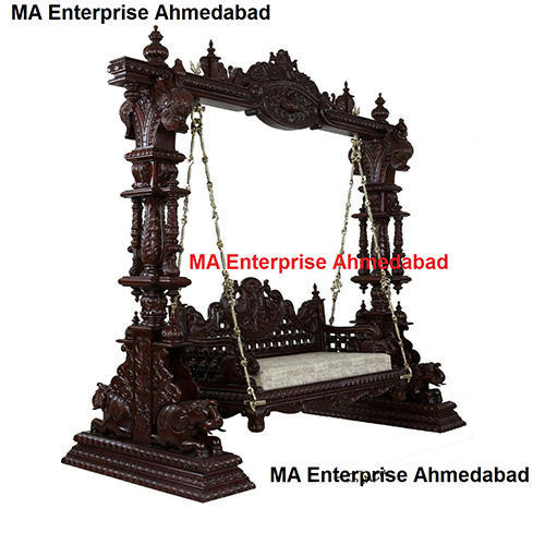 Manufacturer Of Wooden Temples Wooden Swing Jhula By M A
