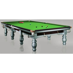 Greenish Snooker Table with Banglori Slate