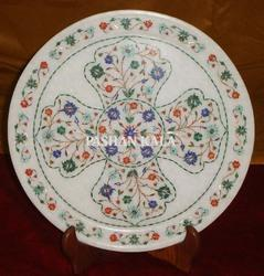 Round Marble Stone Plate