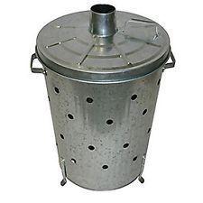 Galvanized Incinerator Bin