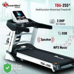 Powermax TDA-255 Multifunction Motorized Treadmill with Auto Incline