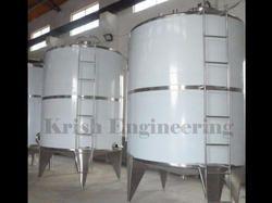 SS Distilled Water Storage Tank