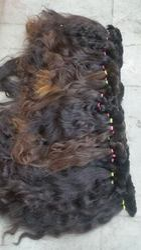 Single Donor Bulk Hair