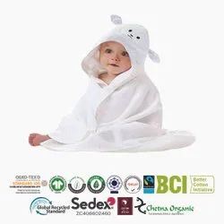 Organic Baby Hooded Towels
