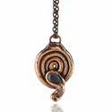 Snake Gemstone Pendant