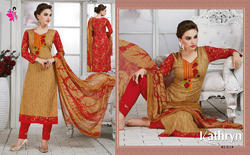 Embroidery Churidar Suits