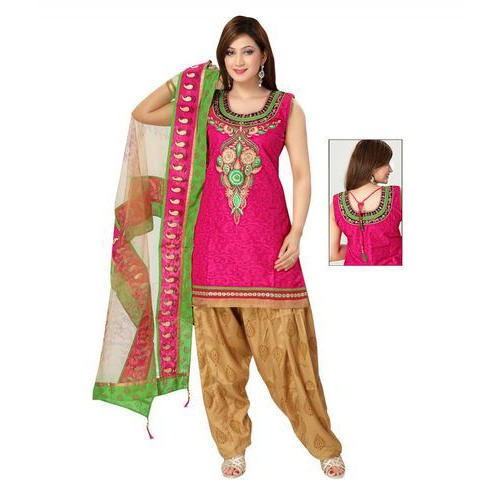 Ladies Suit - Ladies Sleeveless Patiala Suit Manufacturer from Ahmedabad ddd3c46e2