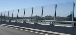Transparent Noise Barrier