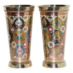 Brass Decorative Glass