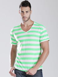 Men V-neck T Shirt