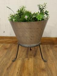 Vertical Indoor- Outdoor  Planter With Stand