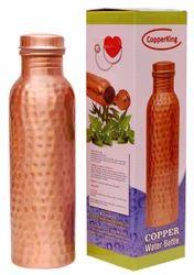 Copper King Hammered Water Bottle