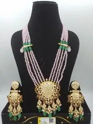 Antique Kundan Mala P.Sets