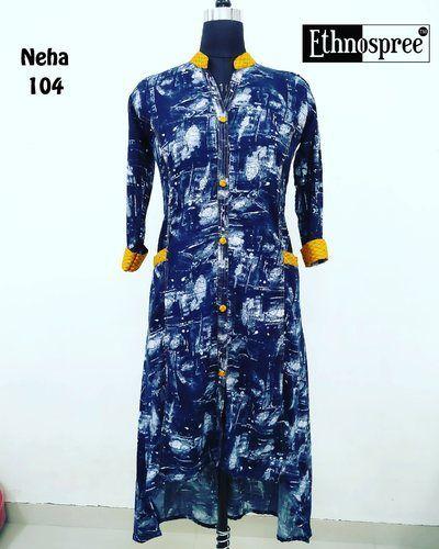 Myrah Fabrics Llp Manufacturer Of Fancy Cotton Kurti