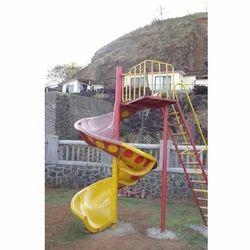 Spiral FRP Slide