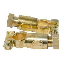 Brass Fuse Contacts Battery Terminal