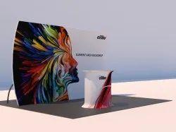Pop Up Exhibition Backdrop