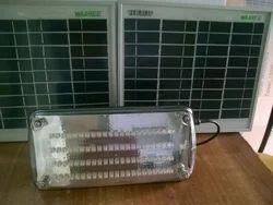 12W Solar LED Street Light (Inbuilt Battery) with Pole