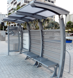 Frp Shade Bus Stop Shed Manufacturer From Surat