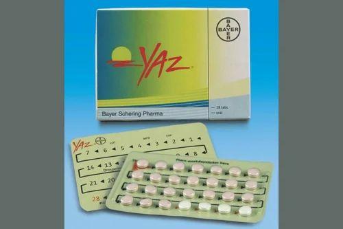 Yaz birth control price
