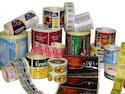 Flexo Printed Colored Labels in Roll Form